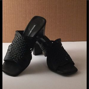 Sesto Meucci Woven Leather Heels size 5 1/2