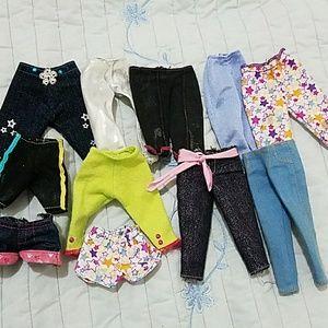 Barbie Other - 11 Barbie capris, shorts.