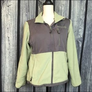 Free Country Tops - Free Country Green and Grey jacket women's