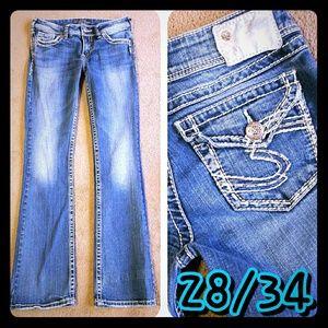 Silver Jeans Denim - Silver SUKI Surplus Jeans