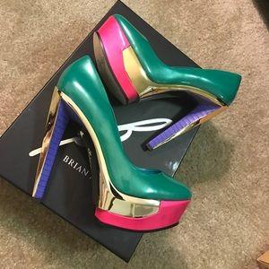 B Brian Atwood Shoes - B Brian Atwood Leonida Platform Pump brand new