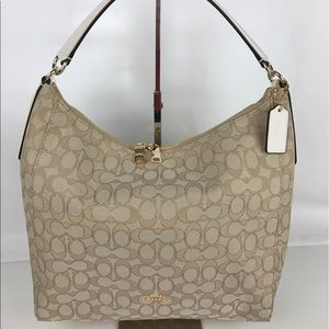 Coach Handbags - Coach Celeste Signature Convertible Hobo