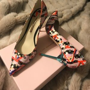 Sophia Webster Shoes - Sophia Webster Coco Flamingo Multi Pump