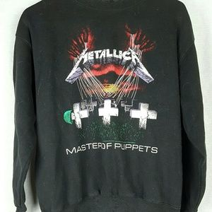 Bravado Tops - Metallica Master of Puppets Sweatshirt