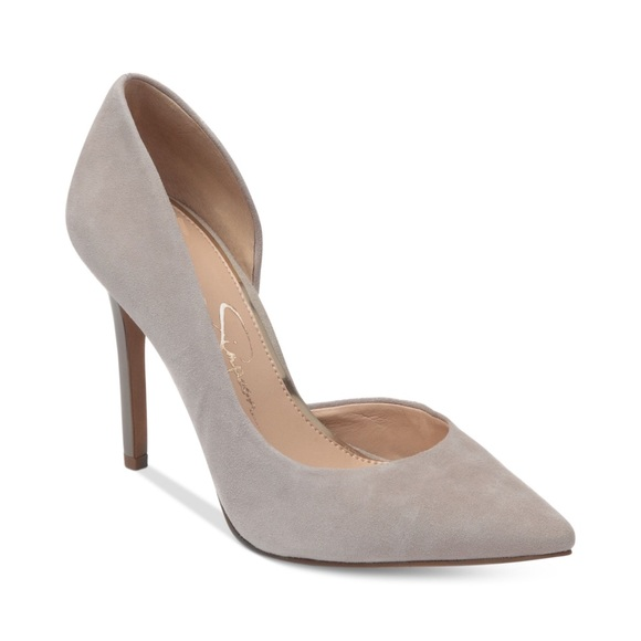 3837397468db Jessica Simpson D orsay Pumps in Charcoal