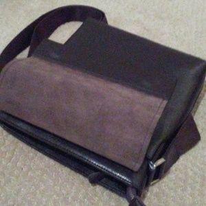 10.Deep Handbags - Dark brown leather Satchel