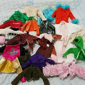 Barbie Other - 20 pieces of Barbie sweaters, hoodies, jackets