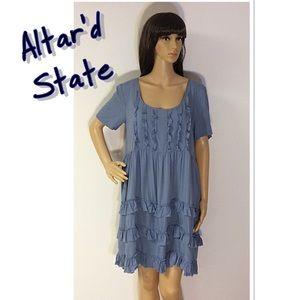 Altar'd State Dresses & Skirts - 🎈OFFER $29 🎈ALTAR'D STATE POWDER BLUE DRESS