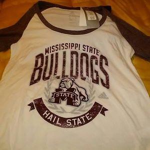 NCAA Tops - Mississippi State Univ Tshirt