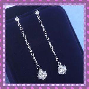 Boutique Jewelry - 🌼Cubic Zirconium Cube Tassel Dangle Earrings🌼