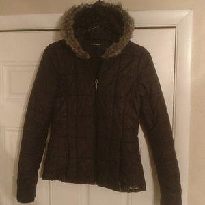 cde49d4c3b2368 ... Vans Black Puffer Jacket