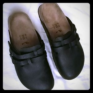 Birkenstock Shoes - Birki Birkenstock Pebble Black Mules