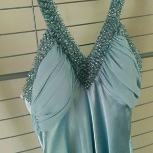 Nightway Dresses & Skirts - Nightway Ice Blue Formal Dress Size 2