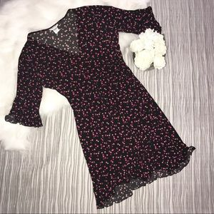 Robbie Bee Dresses & Skirts - Robbie Bee Petites polka dotted dress