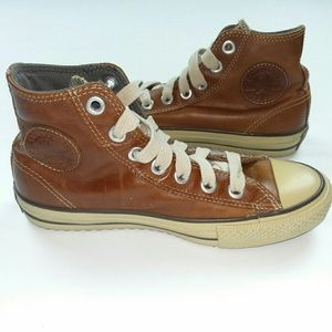 Converse Other - LEATHER CONVERSE High Tops Sneakers 3m Thinsulate