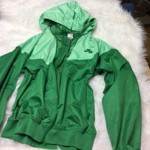 Nike Jackets & Blazers - Vintage women's Nike Air wind breaker jacket