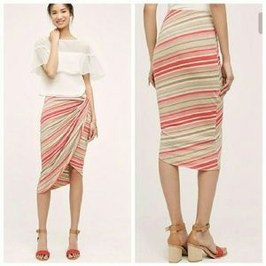 Anthro Bailey 44 Isala wrap skirt size XS or S