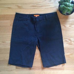 Joe Fresh Pants - Joe Fresh Textured Navy Blue Shorts