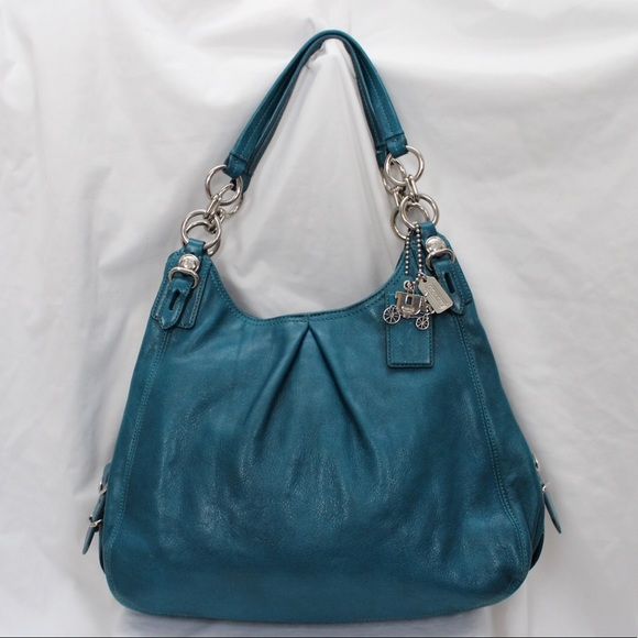 d0fb139d800f Sold on Ebay Coach Maggie Leather hobo Handbag ...