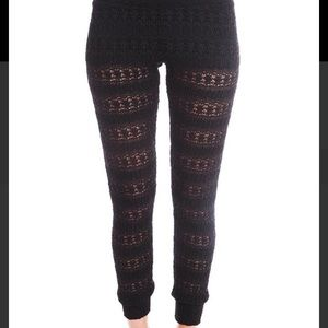 Nightcap Pants - Nightcap high waist lace pant