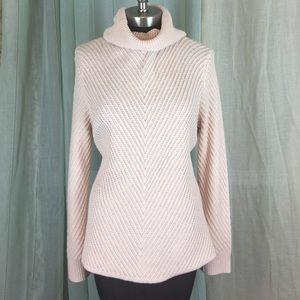 New York & Company Sweaters - NY&CO | Pastel Pink Knit Turtleneck