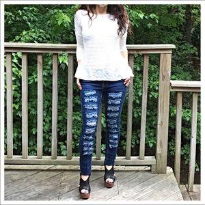 Denim - 🆕 shredded favorite jeans