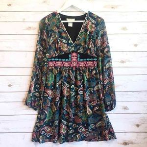 NWOT FLYING TOMATO Boho Gypsy Dress