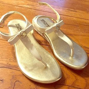 Michael Kors kids sandals size 2