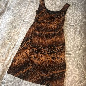 Connected Apparel Dresses & Skirts - Connected Apparel Animal Print Dress