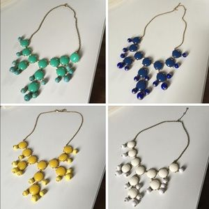 J. Crew Jewelry - 4 two-tone J. Crew statement necklaces