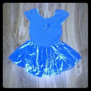 Jacques Moret Other - Little girls dance leotard with velvet skirt  8/10