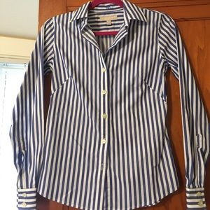 Beautiful stripped button down