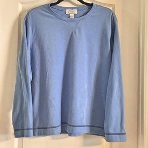 Oscar de la Renta Fleece Sweatshirt