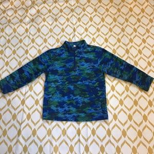 Hanna Andersson Other - Boys Hanna Andersson camo fleece pullover size 5-6