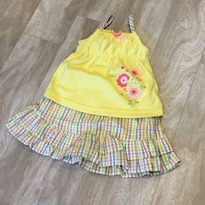 Nannette Other - Toddler girls 2T matching set. Tank & skirt