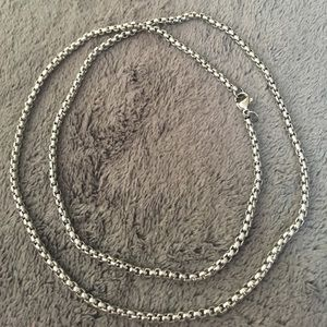 Jewelry - NWOT stainless steel necklace