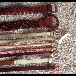 Accessories - Belts galore! Selling all 9 as a set!