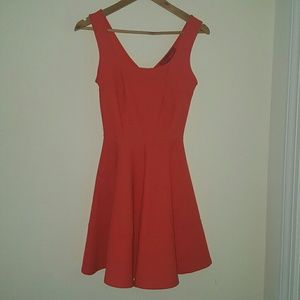 AKIRA Dresses & Skirts - Akira Chicago Orange Dress