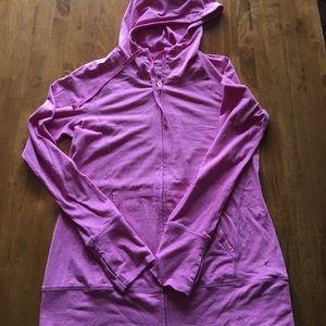 Danskin Now Tops - Hooded workout zip up