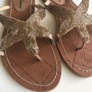 Tommy Bahama Shoes - 🌴TOMMY BAHAMA BEADED STARFISH FLIP FLOP🌴