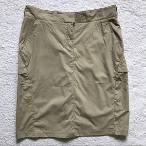 Exofficio Dresses & Skirts - Exofficio Nylon Outdoor Skirt Camping Hiking