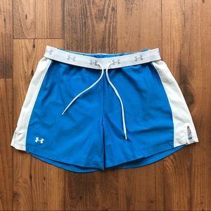 Under Armour Pants - Under Armour Blue Athletic Shorts