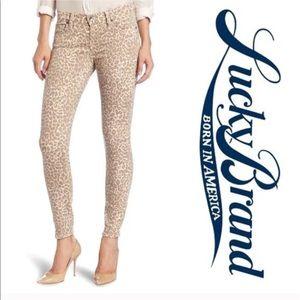 Lucky Brand Denim - Lucky Brand Jeans Legend Sofia Skinny Leopard 30