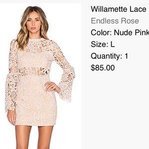 Endless Love Revolve Lace Dress