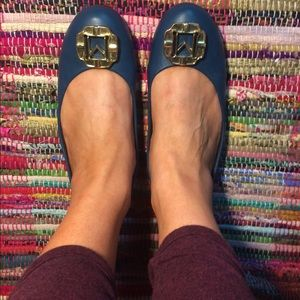 Monet Shoes - Teal flats