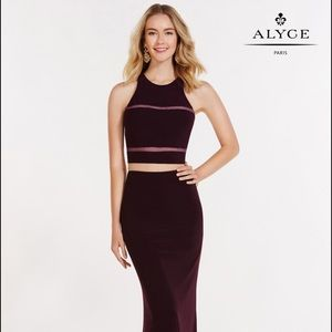 Alyce Paris Dresses & Skirts - Alyce Paris Black Plum Prom Dress