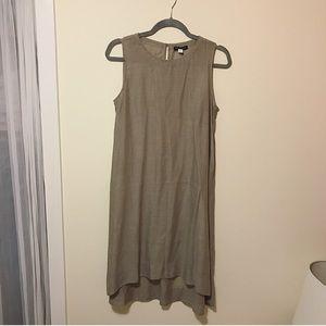 Eileen Fisher Linen Midi Dress