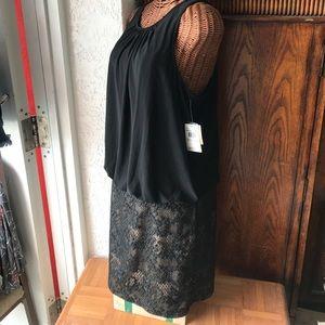 Aidan Mattox Dresses & Skirts - Black Aidan Mattox size 12 dress