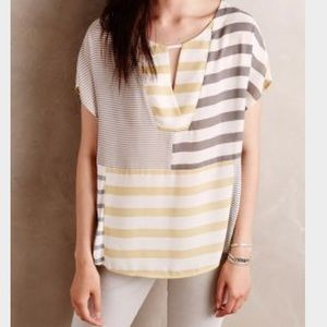 Anthropologie Tops - 🍰ANTHROPOLOGIE🍰ONE SEPTEMBER STRIPED TOP🍰