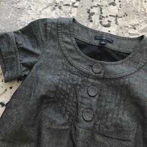 GAP Dresses - Gray three button dress